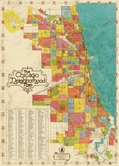 Chicago Neighborhood Map in Lake View East, Chicago ~ Apartment Therapy Classifieds Chicago Poster, Chicago Map, Chicago Neighborhoods, Chicago Travel, Atlanta Map, East Chicago, Chicago Photos, Chicago Style, Chicago History Museum