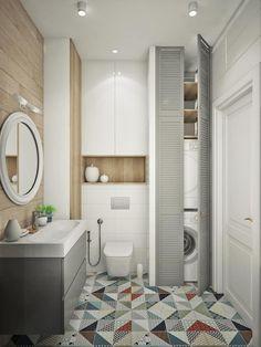 ЖК Маяк: Ванные комнаты в . Автор – Ирина Рожкова - частный дизайнер интерьера