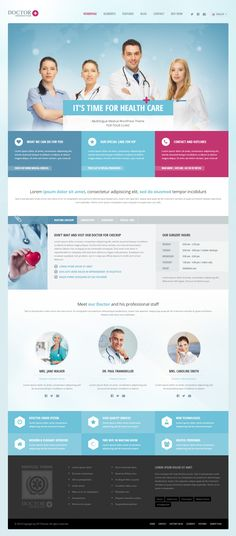 Doctor+ is Premium full Responsive WordPress Medical theme. Drag and Drop. SEO Optimized. Revolution Slider. Google Map. http://www.responsivemiracle.com/cms/doctor-premium-responsive-medical-wordpress-theme/