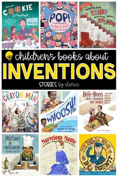 Do you have students who love to build, tinker, and create? These children's books about inventions are sure to spark their imaginations! Best Books To Read, Good Books, Philosophy Books, Primary Classroom, Classroom Ideas, Preschool Classroom, Psychology Books, Teaching Strategies, Teaching Ideas