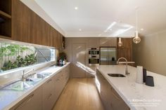 TKDC - Mont Albert North - www. Kitchen Room Design, Modern Kitchen Design, Kitchen Layout, Home Decor Kitchen, Interior Design Kitchen, Home Kitchens, Küchen Design, House Design, Cuisines Design