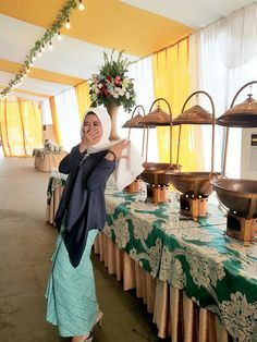 Kebaya Modern Navy Blue For Wedding Party 2017 by.DEENEST