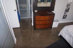 Laundry Room - Sealed Concrete Flooring