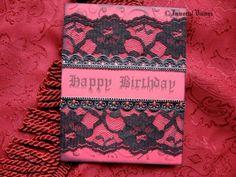 Gothic Happy Birthday Greeting Card