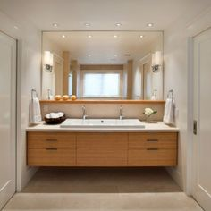 integrierte beleuchtung zu hause waschbecken badezimmer holz