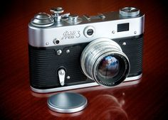 FED 3 with 50mm Jupiter 8 f/2.  A Russian copy of a Leica.
