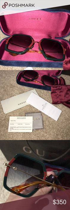 Gucci sunglasses New authentic Gucci sunglasses Gucci Accessories Glasses