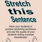 Stretch This Sentence journal- Adding details to small sentences.    This product has 20 days worth of short sentences on separated pages where stude...