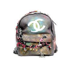 Chanel artschool backpack #Chanel #backpack