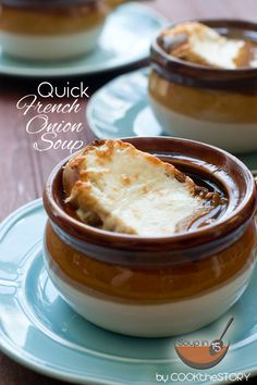 Pin this Quick French Onion Soup Recipe