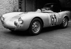 Mexico Carrera Panamericana 1953 Porsche 550