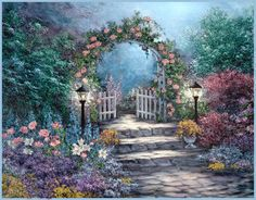 Heavens Gate Pictures, Images and Photos Garden Gates, Garden Art, Gate Images, Gate Pictures, Pictures Images, Bing Images, Penny Parker, Thomas Kincaid, Heaven's Gate