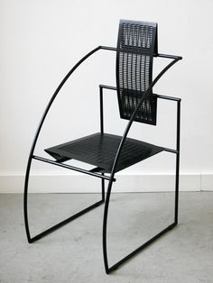 Quinta Chair for Alias, 1985 // Mario Botta
