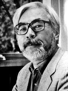 Hayao Miyazaki (January 5, 1941). Japanese film director, animator, manga artist, illustrator, producer, and screenwriter. He has attained international acclaim as a maker of anime feature films and, along with Isao Takahata, co-founded Studio Ghibli, a film and animation studio. His works are characterized by the recurrence of progressive themes, such as environmentalism, pacifism, feminism, and the absence of villains. His films are also frequently concerned with childhood transition.