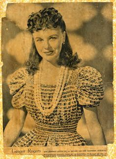 Missing music, theatre, school-Anne Frank pasted this photo of Hollywood actress Ginger Rogers onto her bedroom wall in the secret annex. Anne cut it out of a Libelle magazine from Hooray For Hollywood, Hollywood Stars, Hollywood Actresses, Actors & Actresses, Margot Frank, A Fine Romance, Anne Frank House, Ginger Rogers, She Movie