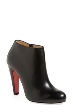 Christian Louboutin 'Belba' Round Toe Bootie available at #Nordstrom