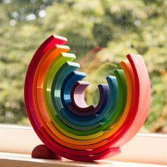 regenboog als decoratie