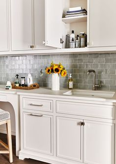 This Nashville Home Has Laundry Room Inspo for Days Room, Home, Laundry Station, Kitchen Cabinets, Pantry Laundry Room, Laundry, Room Inspo, Indoor Bowling Alley, Laundry Room