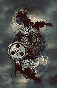Steampunk Photography and Illustrations – the Victorian Perspective on the Future
