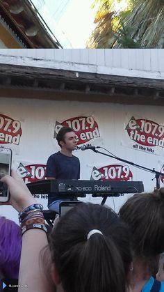 Nathan se apresentando no #SplashBash em Sacramento, nos Estados Unidos. (via @jazzz1246) (12 ago.
