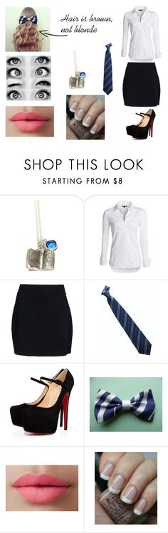 """""""Bambi #3"""" by nerd-alert-23 ❤ liked on Polyvore featuring NIC+ZOE, A.L.C., Christian Louboutin, LORAC and OPI"""