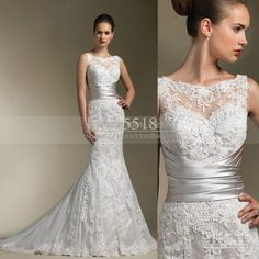 wholesale slim figure wedding dress