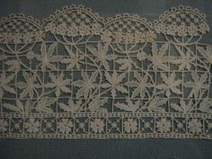 Italian Needlework: Aemilia Ars needle lace from Bologna - Part One