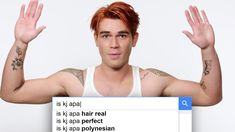 Riverdale star KJ Apa takes the WIRED Autocomplete Interview and answers the internet's most searched questions about himself. Why doesn't KJ Apa have an acc. Most Searched, Latest Hits, Aesthetic Hair, Amazon Fire Tv, Ted Talks, The Cw, Tv Videos, Thought Provoking, Documentaries