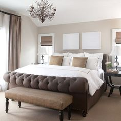 Bedroom Photos White Bedding Big Dark Furniture Design Ideas, Pictures, Remodel, and Decor