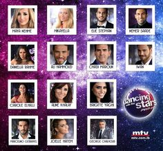 THE NAMES OF PARTICIPANTS IN THE SECOND SEASON OF DANCING WITH THE STARS #DancingWithTheStars #MTV #Lebanon #TV #Arab #Entertainment #News