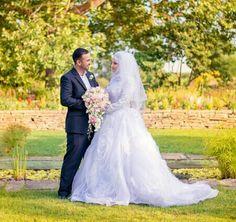 Had a blast taking their photos! Kamal & Manal by photosbyemmah Real Love, True Love, White Gowns, White Dress, Shabby Chic Theme, Dream Wedding, Wedding Day, Muslim Brides, T Lights