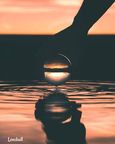 Original Lensball Pro off) Magical Photography, Mirror Photography, Sunset Photography, Silhouette Photography, Wallpaper For Your Phone, Photography Accessories, Rest Of The World, Glass Ball, Golden Hour