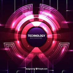 Technology background in abstract style Free Vector Line Background, Background Banner, Lights Background, Abstract Lines, Abstract Styles, Blue Abstract, Digital Backgrounds, Abstract Backgrounds, Image Avatar