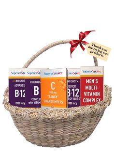 Superior Source Vitamin GIVEAWAY - Enter to Win - One (1) Reader will **WIN** A Vitamin Assortment from  Superior Source