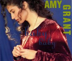 """For Sale - Amy Grant Baby Baby UK  CD single (CD5 / 5"""") - See this and 250,000 other rare & vintage vinyl records, singles, LPs & CDs at http://eil.com"""