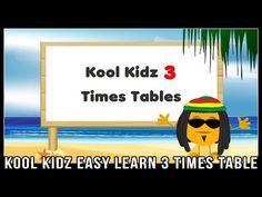 3 Times Table Song (Kool Kidz) Fun & Easy Learn Multiplication Songs! - YouTube