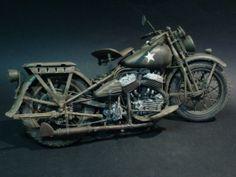 Harley Davidson 750 wla 1/9