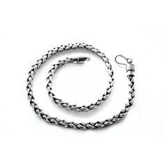 Man Thai Silver Necklace - Collana Thai Uomo Argento