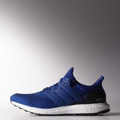 Adidas Ultra Boost Shoes in blue