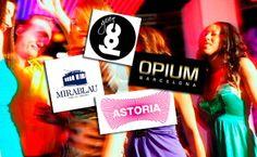 Nit de festa VIP a Barcelona amb tour en autobús i copes incloses per 35€