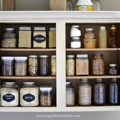 Kitchen Cabinet Makeover- Getting rid of the packaging!