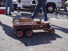 The Old Truck #custom radio flyer