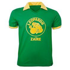 Zaire 1974 Retro Jersey