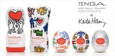 Llévate ahora el pack completo de masturbadores masculinos TENGA del diseñador Keith Haring. ¡Ideal para regalar a tu chico!