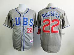http://www.xjersey.com/cubs-22-addison-russell-grey-cool-base-jersey.html CUBS 22 ADDISON RUSSELL GREY COOL BASE JERSEY Only 34.06€ , Free Shipping!