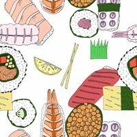 Sushi Pattern by Emily Bakes