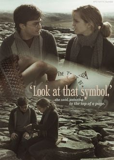 """'Look at that symbol,' she said, pointing to the top of a page."""