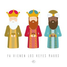 Ya vienen los reyes magos 🎶👑 #reyesmagos #nochedereyes . . . . #vector #illustrator #illustration #instaart #graphicdesign #christmas #flatdesign #design