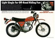 1974 Honda XL100
