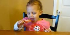This little girl can't decide which urge is stronger: her desire to snooze, or her passion for her popsicle.   We've all been there, child, we've all been there.     The adorable video isn't new, but it's gone vira...